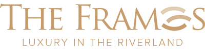 The Frames Luxury in the Riverland Logo